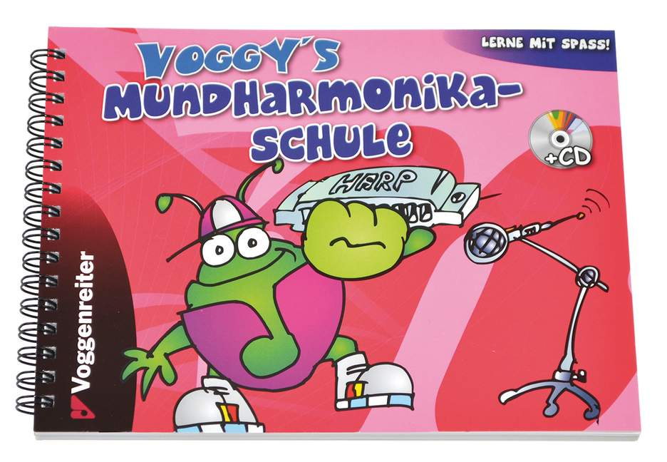 Voggy-039-s-Mundharmonika-Schule-German-Edition-Holtz-Martina-edition-with-CD-f